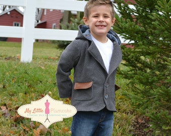 Blazer Sewing Pattern - The Canaan's Incredible Blazer, Boy Sewing Pattern, Girl Sewing Pattern