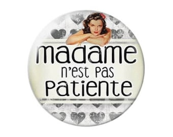 resin cabochon is 25 mm madame stick is not patient