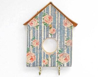 Bird House Style Key Holder, Key Holder for Wall, Key Hook, Key rack, Wall Hooks, Wall Key Holder, Key Rack for Wall, Key Hanger, Hook Rack