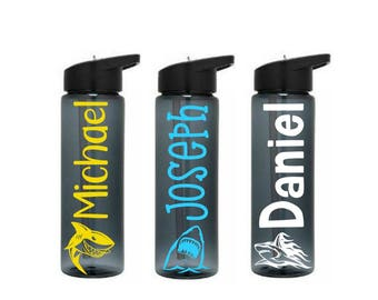 Shark Water Bottle, Kids Water Bottle, Shark Tumbler, BPA Free Water Bottle