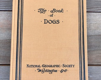 The Book of Dogs by Louis Agassiz Fuertes Hardcover 1919