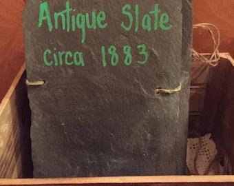 Antique Slate Chalkboard