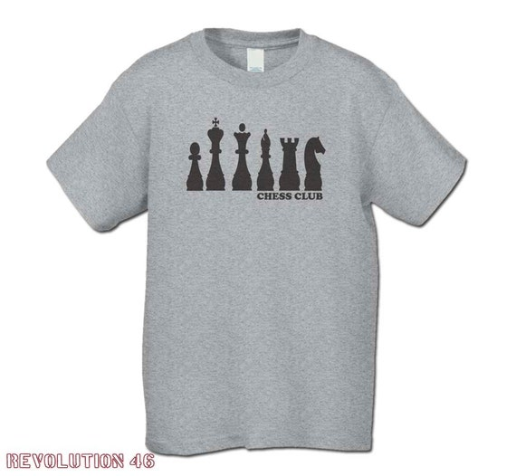 Chess club shirt great gift for the tween teen who loves for Really cheap custom shirts