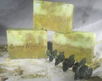 SOAP - Jasmine Forest Soap - Aloe Soap - Green Tea - Bentonite - Natural Soap - Organic - Essential Oil Soap - Vegan Gift -Mothers Day Gift