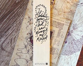 I SOLEMNLY SWEAR - Harry Potter bookmark range.