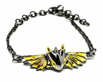 Black Knight Dragon Bracelet