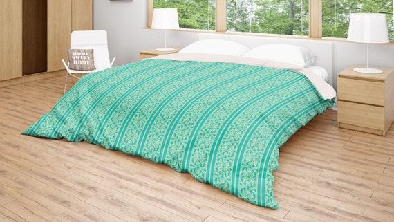 Turquoise Duvet Cover: Turquoise Duvet Cover Green Bedding Striped Duvet Turquoise
