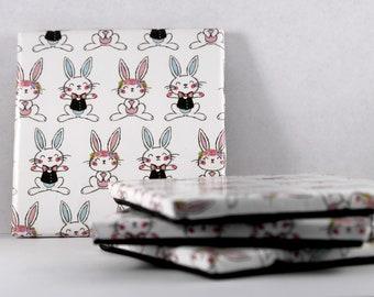 Easter Bunny Ceraminc Coasters