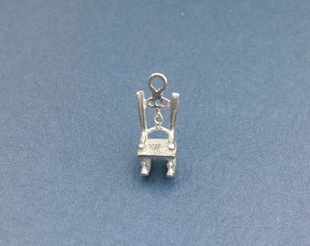 Sterling Silver Rocking Chair Charm