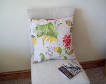 Floral Country Cushion