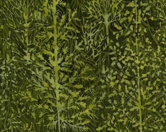 Green  trees batik from Island Batik ISI4C-B1