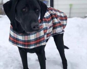 Custom-Sized Winter Pet Coat