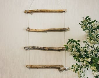Wooden Wall Decor, Hanger for Scarves or Towels, Kitchen Decor, Bedroom Decor, Wooden Wall Hangings, Wooden Wall Decor, Eco Decor