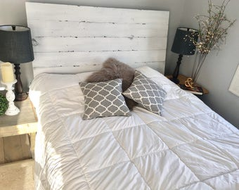 Distressed Headboard Etsy