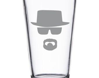 Heisenberg - Breaking Bad Laser Etched Drinkware