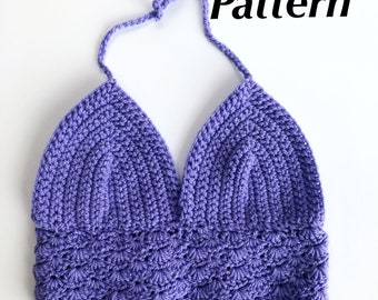 PATTERN/ Shell Stitch Crop Top Pattern