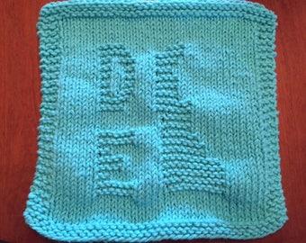Knit Dishcloths, Cotton Washcloth, Knit Washcloth, Kitchen Decor