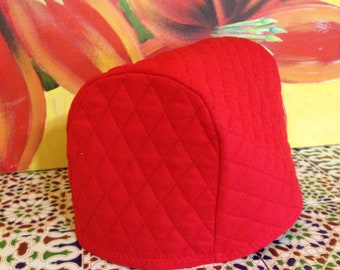Crimson Red Long Slot Toaster Cover Small Toaster Ready to Ship
