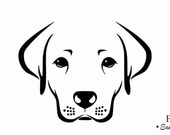 applique labrador dog flex fusible