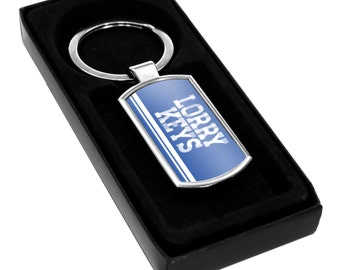 Lorry Keys Keyring Gift Idea Keys fob Boys Son Nephew Work