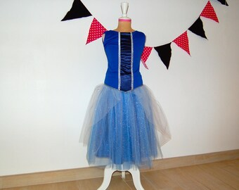 Cinderella inspired costume size 6 years