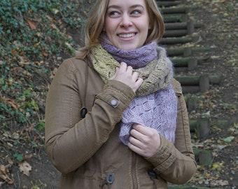 Freezeblocks Shawl PDF crochet pattern