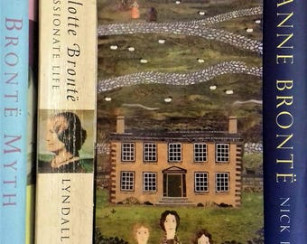 Bookmark·Brontë Sisters·Wuthering Heights·Jane Eyre·Gift for Booklovers·Bookish·Library·Literature·Writers' House·Haworth·Collage·Naive Art