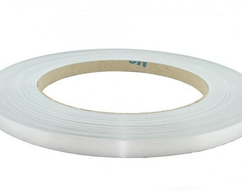 "pvc Real Brushed Aluminum Code M021 Automatic Edge Banding 2""x25' 1mm"