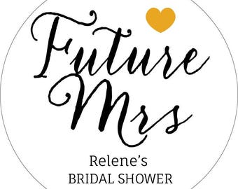 Bridal Shower Stickers, Personalised bridal shower Stickers, Wedding Favour Labels, Bride and Groom Stickers, Kitchen Tea, Free Shipping
