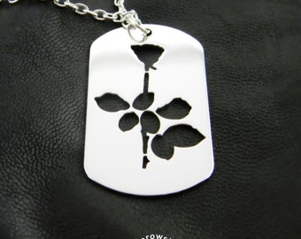 Violator pendant (free shipping) - Dog Tags stainless steel