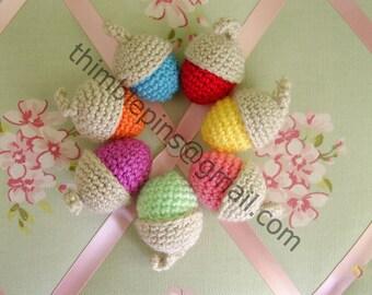 Crochet Acorn Decoration