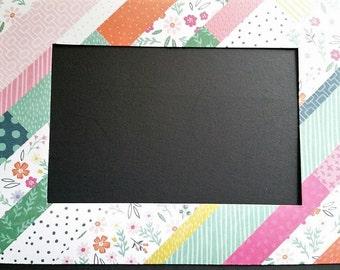 Patchwork Quilt Refrigerator Photo Frame Magnet. Will fit a 4x6 Photo.  Refrigerator Picture Frame Magnet.