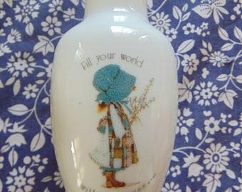 1970s Hollie Hobbie Vintage Vase 70s Childhood memories