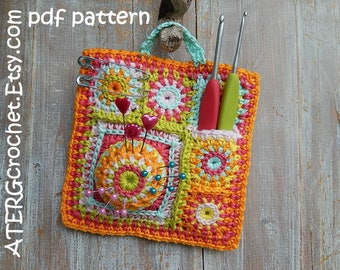 Crochet pattern 'ORGANISER' by ATERGcrochet