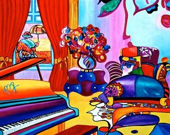 Art Print, Print, Living room, Interior Design, Wall Art, Pop Art Poster, Home Decor, Modern Art