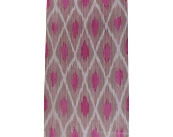 Sale! Ikat Fabric, Ikat Fabric by the yard, Hand Woven Fabric, Cf108