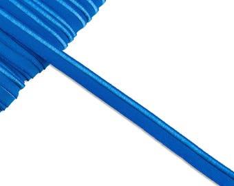 1m elastic piping kobaldblau uni