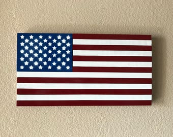 Patriot Painted American flag