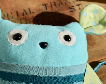 Simon - Toy pouch made from recycled fabrics
