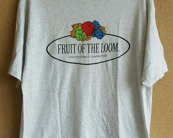 Men's Fruit Of The Loom T- Shirt Size L