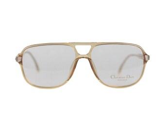 CHRISTIAN DIOR Monsieur Vintage Frame Eyeglasses 2453 60mm 140 NOS