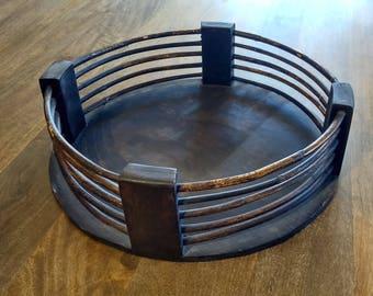 Bamboo Round Tray Handmade