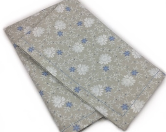 Cloudy With a Chance of Flowers Pocket Square