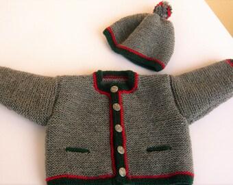 Baby costumes Jabbawockeez, Cardigan, jacket 62/68 with Hat