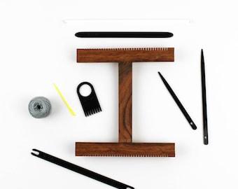 Weaving Loom Kit / Tapestry Weaving Kit / Loom Tools / Learn to Weave / Weaving Accessories / Lap Loom Kit / Hand Loom Kit