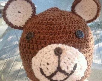 Teddy Bear Beanie