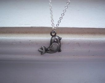 Bird Necklace - Woodland Wedding Necklace - Wedding Necklace - Free Gift With Purchase