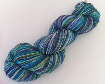 Budgie - hand-dyed sockyarn 3.5 oz 284 yds