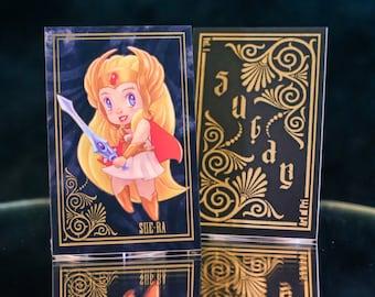 Sugar + Spice Trading Card: She-ra