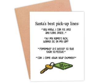 Funny Christmas card Naughty Christmas card Dirty Christmas